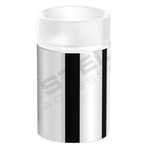 Szklanka / metalowa obudowa / wersja nablatowa   7,5 x 7,5 x 12,5 cm