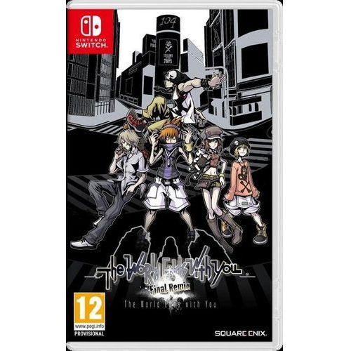 Square enix The world ends with you: final remix switch