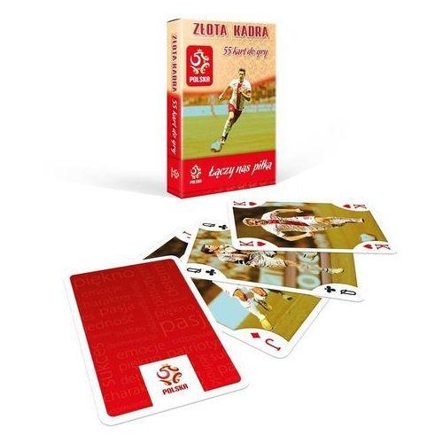 Złota kadra talia 55 kart pzpn marki Cartamundi