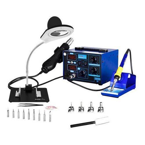 Stacja lutownicza - 75 w - urządzenie 2w1 - 2 x led marki Stamos soldering