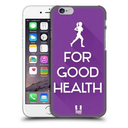 Head case Etui plastikowe na telefon - workout inspirations violet run