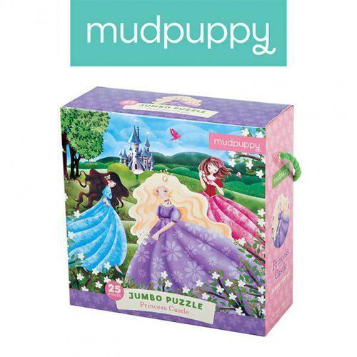 puzzle podłogowe jumbo zamek księżniczki 25 elementów 2+ marki Mudpuppy