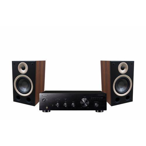 Zestaw stereo PIONEER A10AEB + TAGA AZURE B40 Orzech