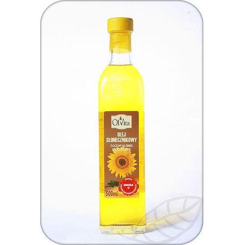 Olej słonecznikowy tłoczony na zimno 500ml - olvita marki Ol'vita