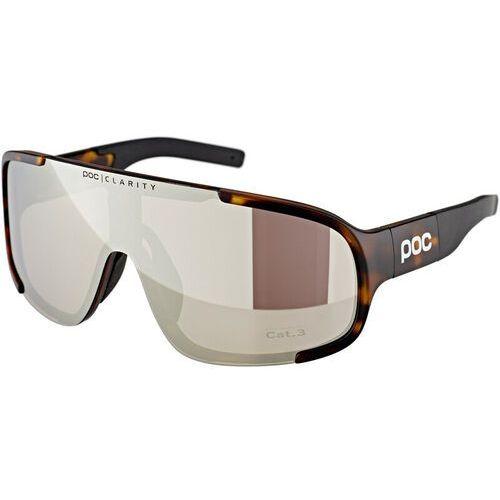 Poc aspire okulary przeciwsłoneczne, tortoise brown/violet/silver 2020 okulary sportowe