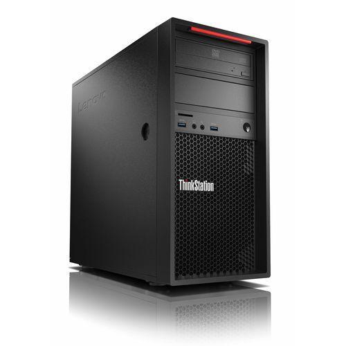 Stacja robocza / graficzna p320 / tower / intel core i7-7700 3.6 ghz / 8gb ddr4 / 256gb ssd / ms win 10 pro marki Lenovo