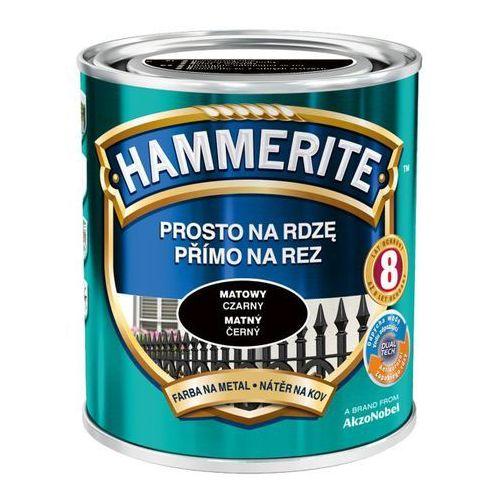 Prosto na rdzę - efekt matowy czarny 0,7l marki Hammerite
