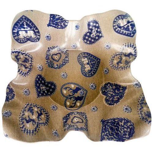 Taca VIVENZI Blue Heart (30 x 30 cm)