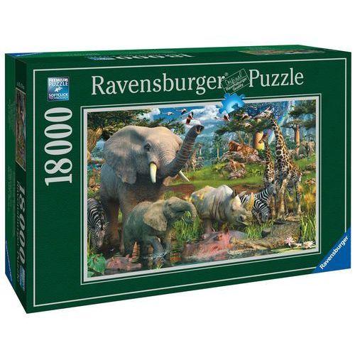 Puzzle RAVENSBURGER Przy wodopoju 178230 18000 elementów + DARMOWY TRANSPORT!