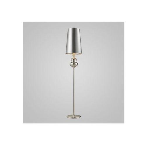 Azzardo Lampa podłogowa Baroco - srebrny (5901238403098)