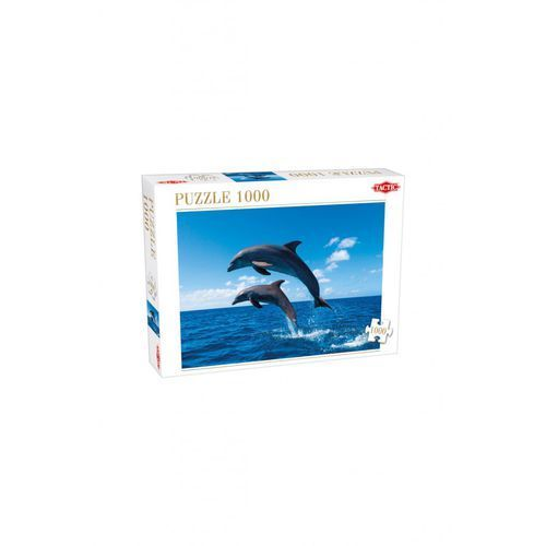 Puzzle 1000 two dolphins jumping marki Tactic