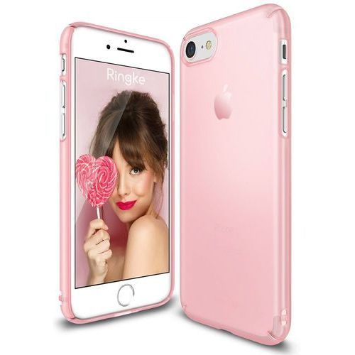 Rearth Ringke Slim Iphone 7 4,7'' - Frost Pink (8809512152618)