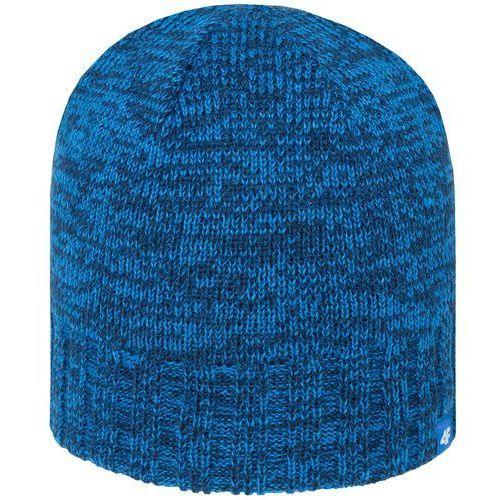 4f Męska ciepła czapka z polarem h4z18 cam008 32m denim s/m