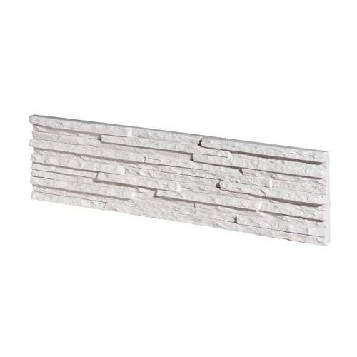Kamień elewacyjny palermo 1 white płytka opakowanie 0,62m2 firmy marki Stegu