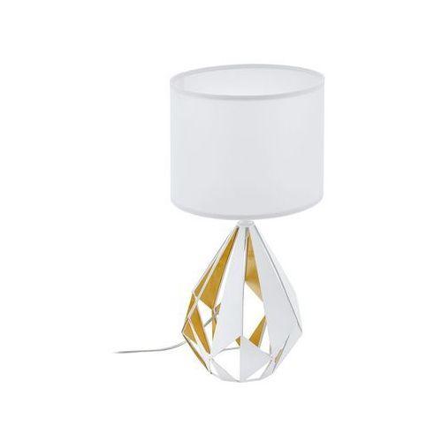 Eglo 43078 - lampa stołowa carlton 1xe27/60w/230v (9002759430788)