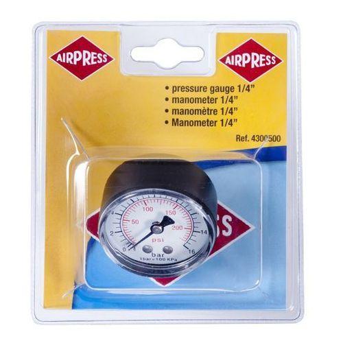 Manometr do kompresora Airpress 1/4, 4345219
