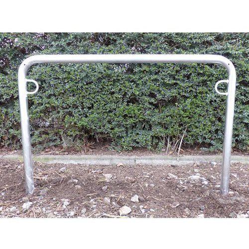 Pałąk wsporczy do rowerów, wys. 850 mm ponad podłożem, do wbetonowania, ocynkowa