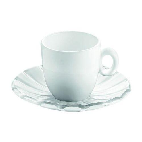 Guzzini - Grace - kpl. 2 filiżanek espresso - biały (8008392271116)