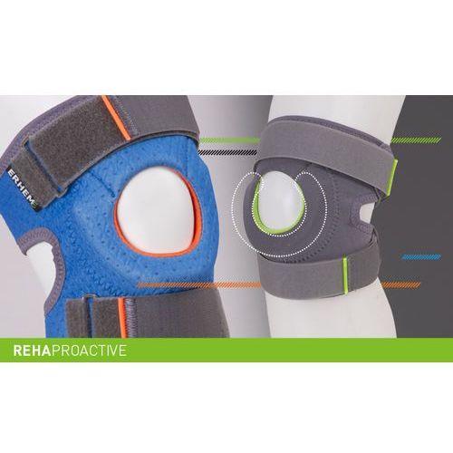Orteza rzepki stabilizująca sport REHAproactive Stabilizator, staw kolanowy, rzepka, REHAproactive, ERH 35/R/1 sport