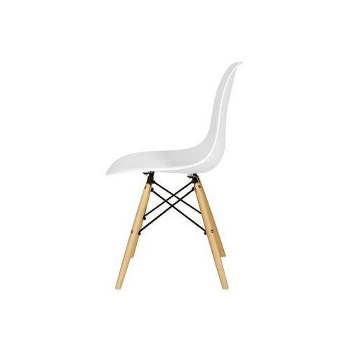Zestaw mebli do jadalni MEDIOLAN stół i 6 krzeseł - biały - biały