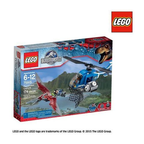 OKAZJA - Lego JURASSIC WORLD Pojmanie pteranodona 75915