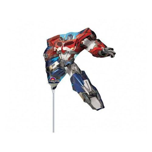 Balon foliowy do patyka Transformers Optimus Prime - 23 cm - 1 szt. (0026635293341)