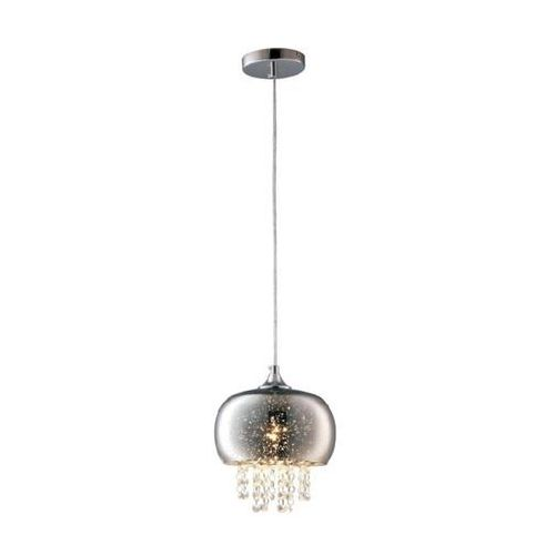 Lampa wisząca starlight ml3789 szklana oprawa zwis z kryształkami glamour crystal chrom marki Milagro