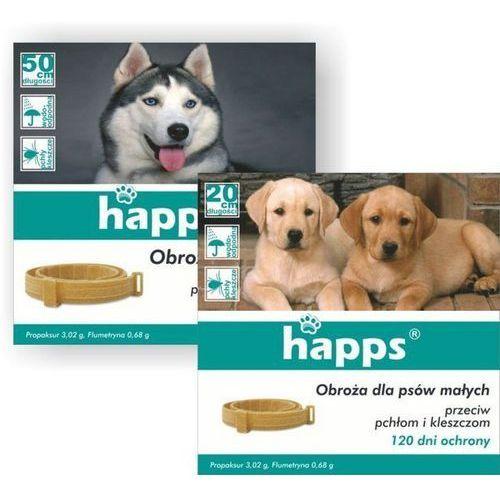 Happs Obroża przeciw pchłom i kleszczom dla małego psa 35 cm, BR 2838