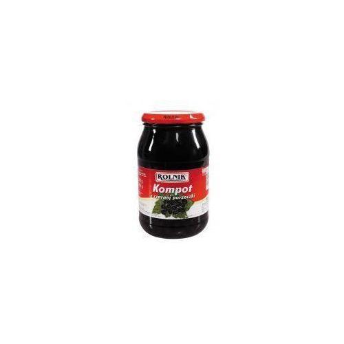 Kompot z czarnej porzeczki 900 ml  marki Rolnik