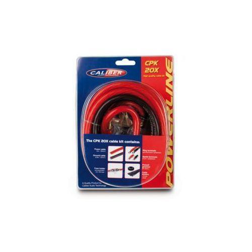 Caliber Zestaw kabli do wzmacniaczy cpk20 (8714505039282)