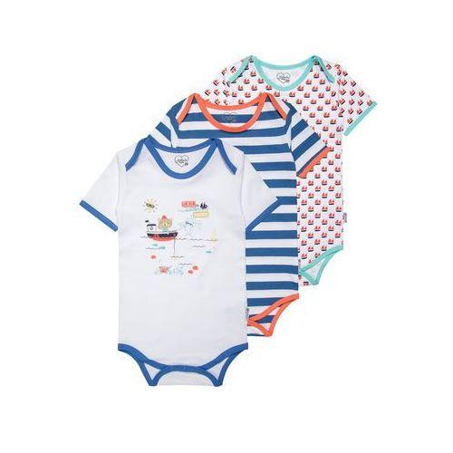 Gelati Kidswear THE 7 SEAS 3 PACK Body multicolor, towar z kategorii: Body niemowlęce