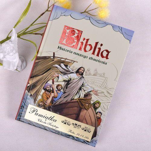 Biblia- pamiątka chrztu świętego marki Specially4u