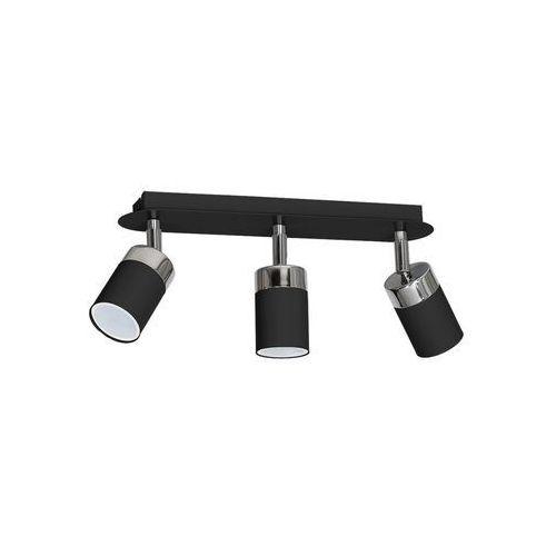 Decoland Oświetlenie punktowe joker 3xgu10/40w/230v czarny (5907812629120)