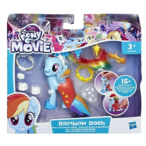My little pony, kucykowe kreacje rainbow dash marki Hasbro