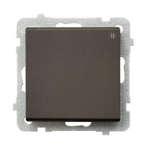 Ospel Łącznik krzyżowy sonata 16ax czekoladowy metalik ip20 łp-4r/m/40 (5907577448486)