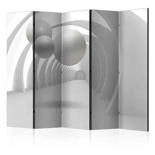 Artgeist Parawan 5-częściowy - biały tunel ii [room dividers]