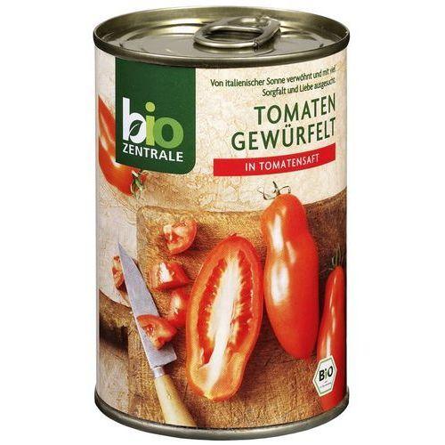111bio zentrale Pomidory pokrojone w kostkę 400g - bio zentrale eko