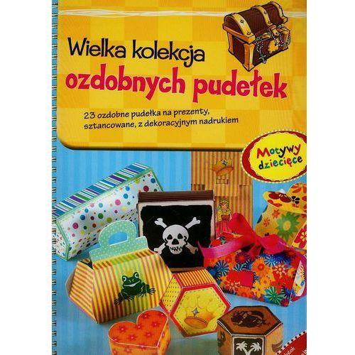 Wielka kolekcja ozdobnych pudełek motywy dziecięce. 23 ozdobne pudełka na prezenty, sztancowane, z dekoracyjnym nadrukiem marki Vemag