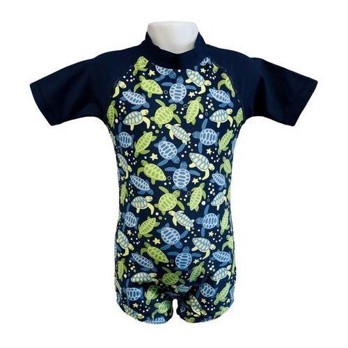 Banz Strój kąpielowy kombinezon dzieci 108cm filtr uv50+ - turtle print \ 108cm