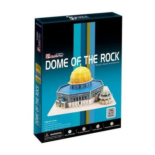 Puzzle 3d dome of the rock marki Cubic fun