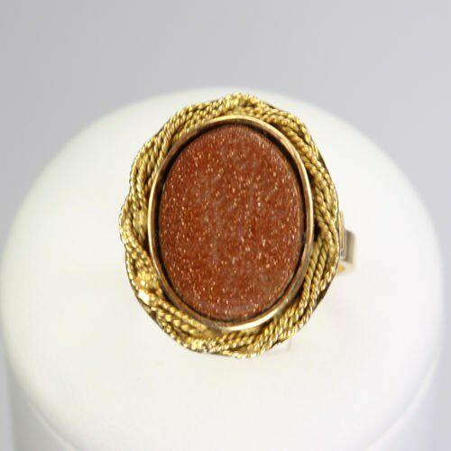Złoty pierścionek P695, kolor żółty
