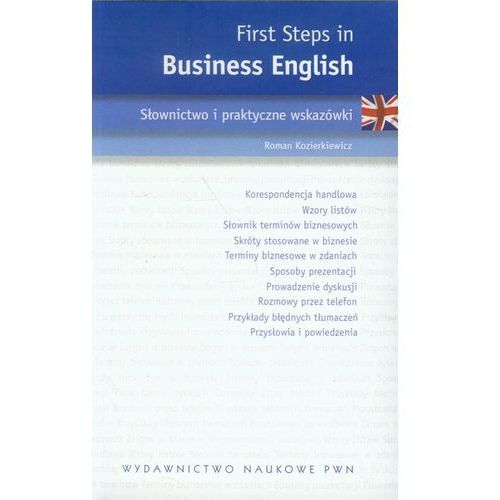 First Steps in Business English (176 str.)