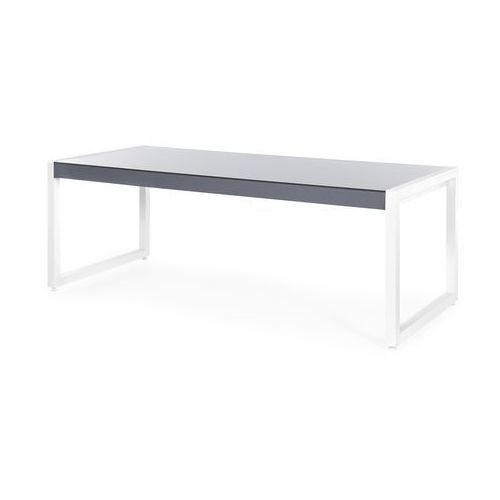 Zestaw ogrodowy stół i 6 krzeseł szary BACOLI