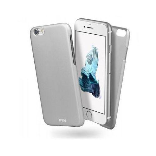 SBS Cover Slim TECOVERIP6S iPhone 6/6s (srebrny) - produkt w magazynie - szybka wysyłka!, kolor szary