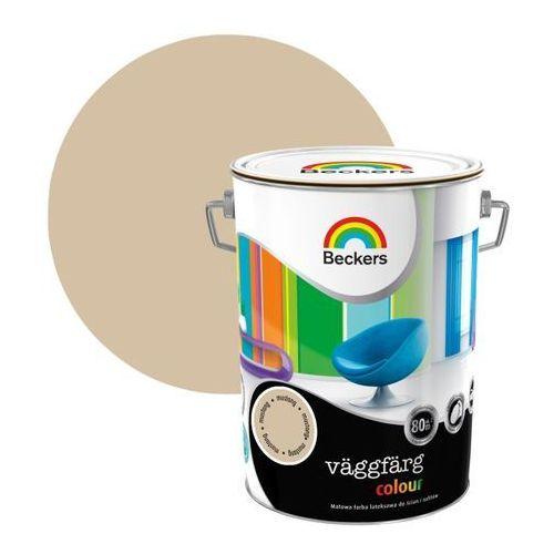 Farba lateksowa vaggfarg colour musta 5 l marki Beckers
