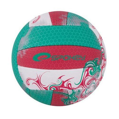 Piłka siatkowa SPOKEY Eos Czerwono-Zielony (rozmiar 5), kup u jednego z partnerów