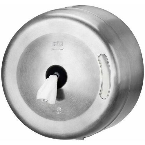 Tork Dozownik do papieru toaletowego w roli smart one, stalowy