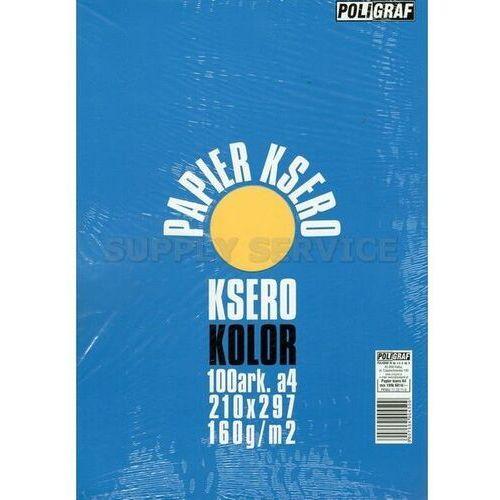 Papier xero A4 kolor POLIGRAF mix 160g.intesnywny (5907554904509)