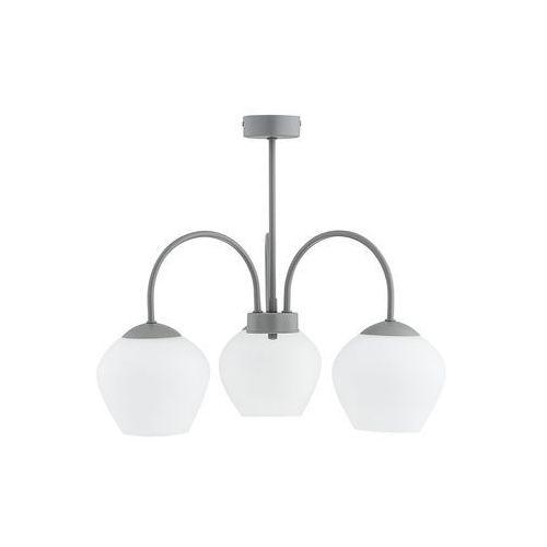 Lemir Molto O2783 W3 SZA plafon lampa sufitowa żyrandol 3x60W E27 szary mat, O2783 W3 SZA