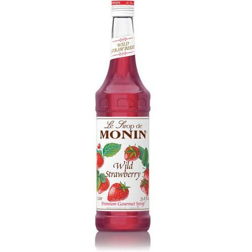 Syrop  poziomkowy- wild strawberry 700ml marki Monin